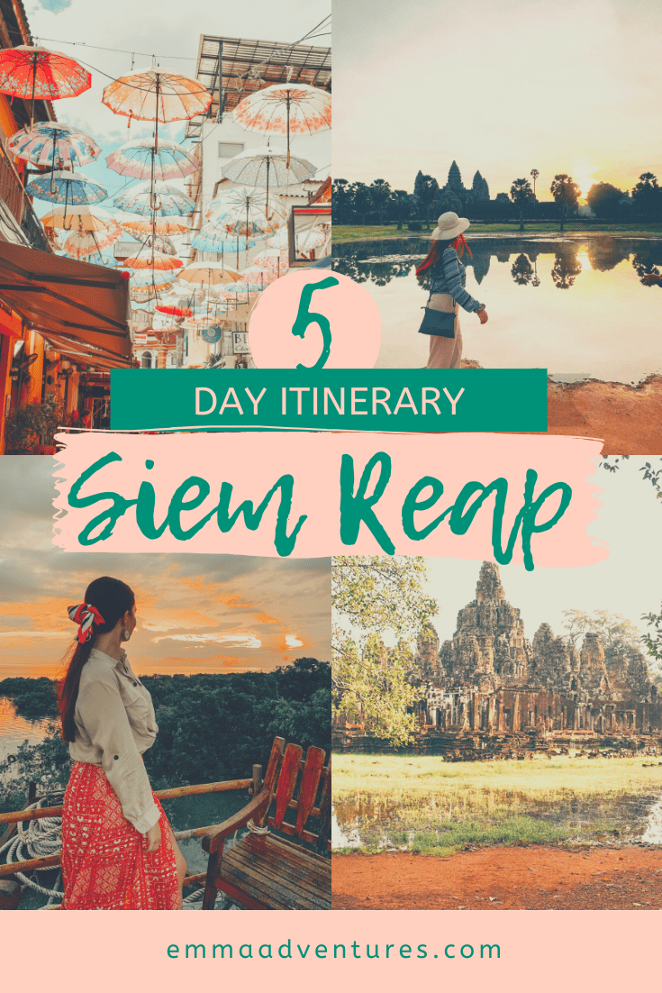 The best Siem Reap Itinerary with all the things to see and do in Siem Reap plus where to eat drink & stay! Check it out now! #cambodiatravel #cambodia #siemreap #style #shopping #styles #outfit #pretty #girl #girls #beauty #beautiful #me #cute #stylish #photooftheday #swag #dress #shoes #diy #design #fashion #Travel
