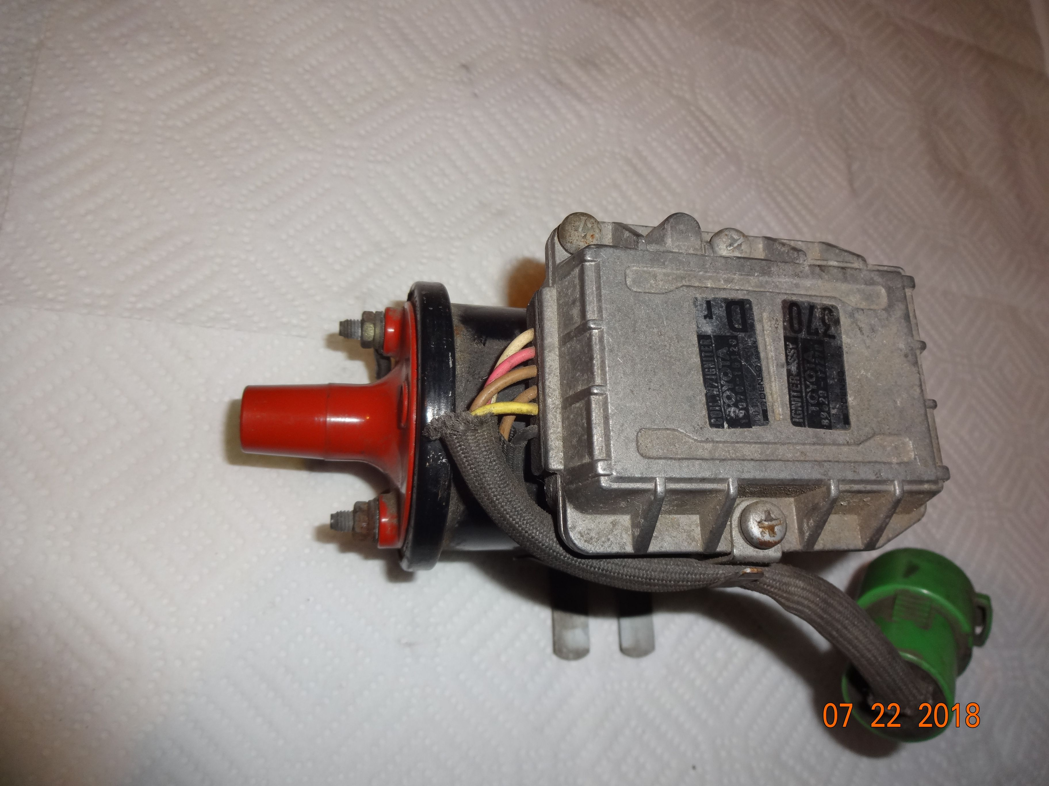 89620 12270 igniter assembly 90919 02113 ignition coil assembly toyota mr2 sc 4agze [ 3648 x 2736 Pixel ]