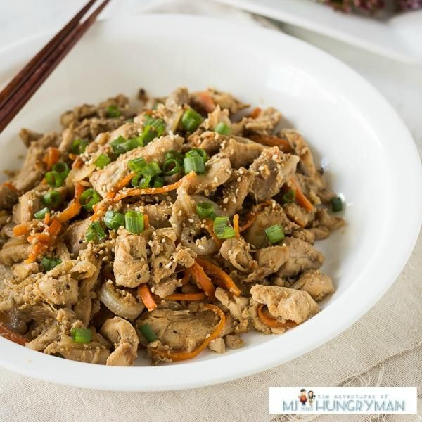 Chicken Recipe : Chicken Bulgogi. A Korean classic made healthier. Make ahead and enjoy throughout the week
