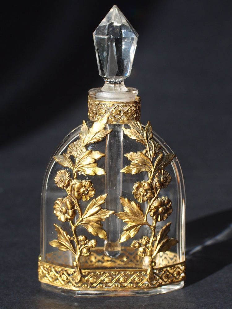 French Antique Baccarat Perfume Bottle