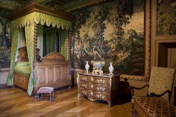 Chateau De Puymartin Chambre D Honneur Decoration Interieure Chambre Decoration