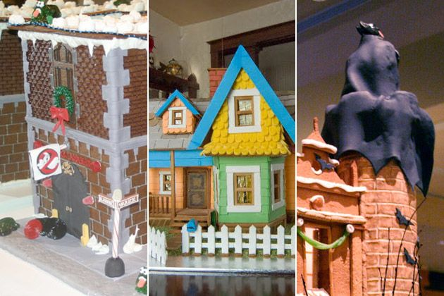 12 Gingerbread Houses Inspired by Movies