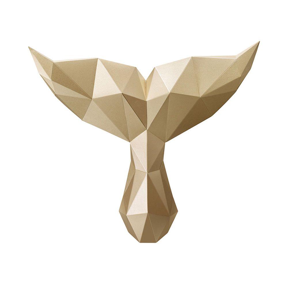 Paper Hunting Trophy DIY Assembly Kit 3D Paper Art Home Deco ...