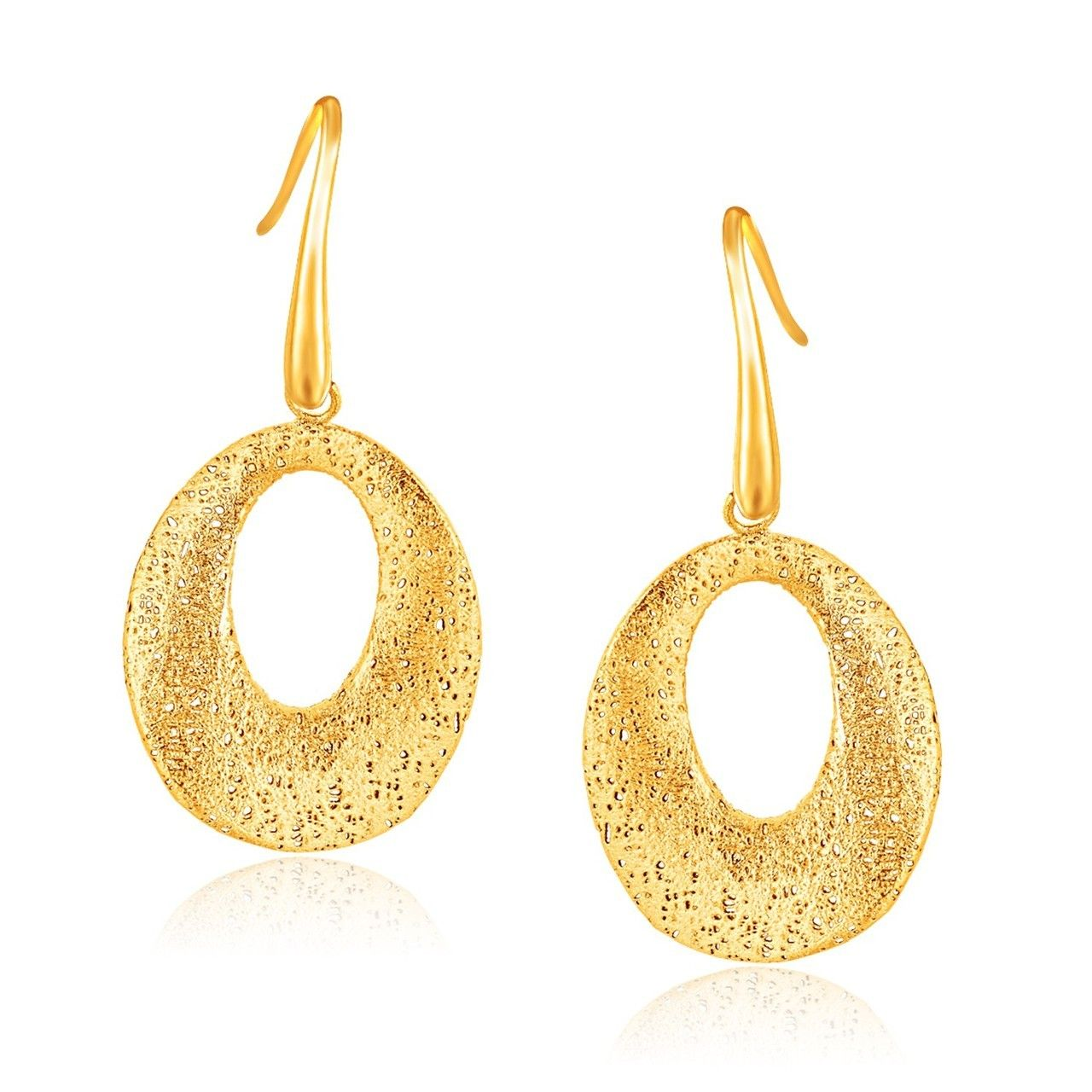 Gold Luxury Jewelry High Quality Gold Earrings Gold Jewelry Gifts