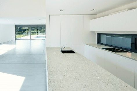 Dekton compact surface as kitchen worktop in danae by the for Cosentino arredamenti