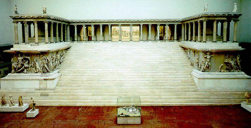 Evropa Pred Nashim Ochima Kapitulira Pred Chovekobozhiјem Koјe Vodi Satanobozhiјu Pergamon Pergamon Museum Pergamon Museum Berlin