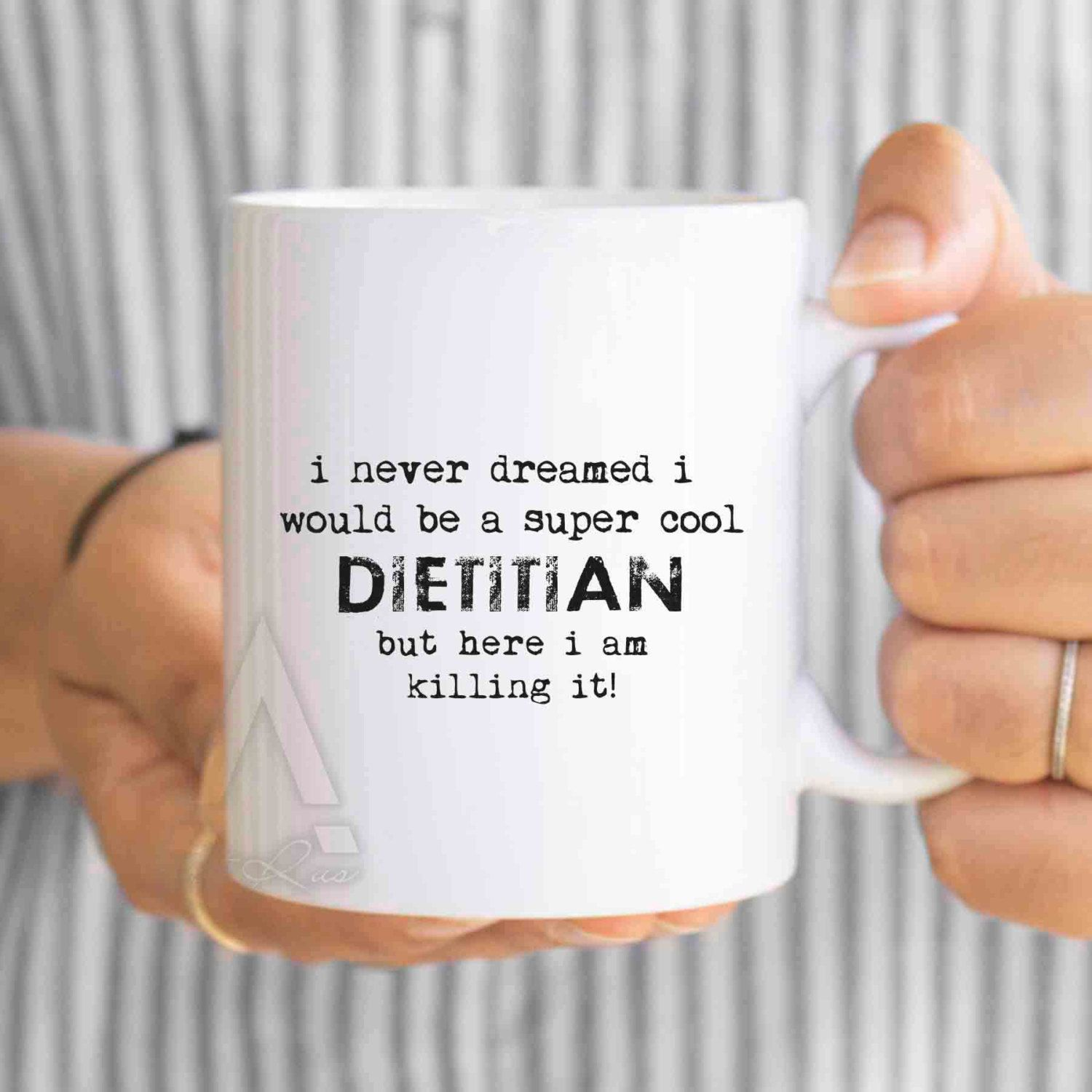 Dietitian Christmas Gift, I Never Dreamed I Would Be A