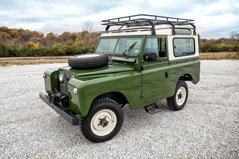 1963 Land Rover Santana Series Fast Lane Classic Cars Land Rover Land Rover For Sale Pickup Trucks For Sale