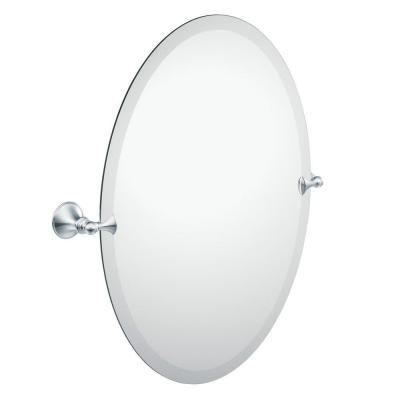 Moen Glenshire 26 In X 22 In Frameless Pivoting Wall Mirror In