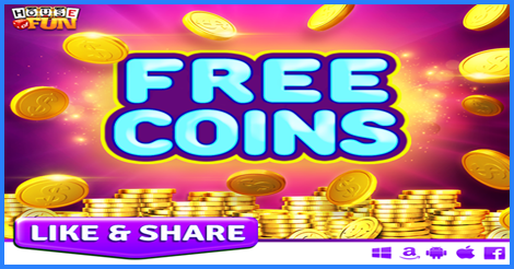 House Of Fun Free Coins 01 24 17 Heart Of Vegas Coins Coins Heart Of Vegas