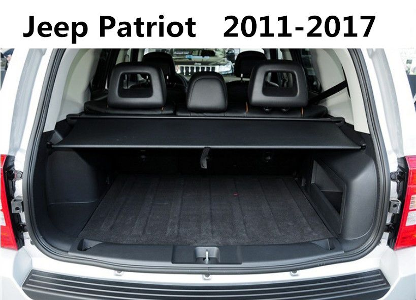 car rear trunk security shield cargo cover for jeep. Black Bedroom Furniture Sets. Home Design Ideas
