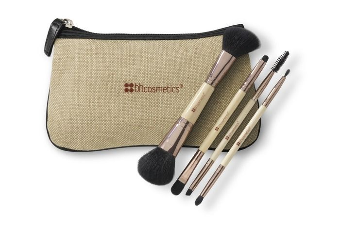 Boho Chic Dual Brush Set. Love double-ended makeup tools.