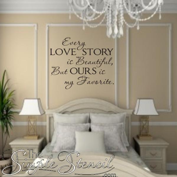 Every Love Story Is Beautiful Wedding photo walls