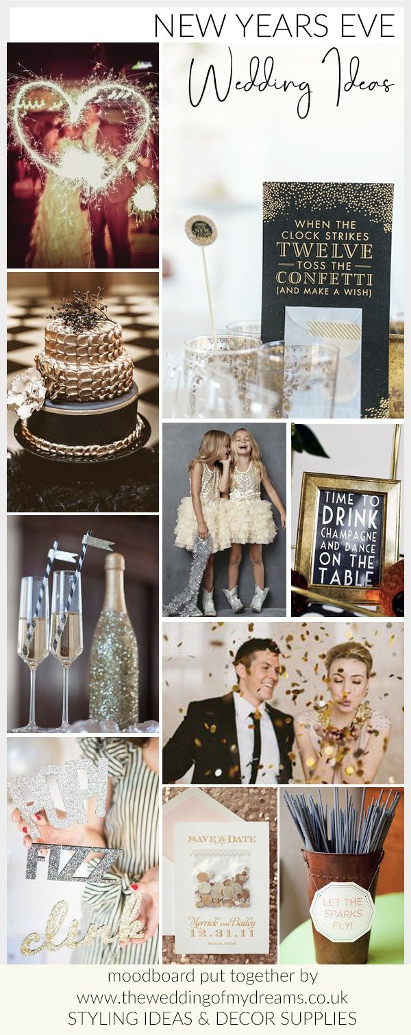 New Years Eve Wedding Ideas www.theweddingofmydreams.co.uk ...