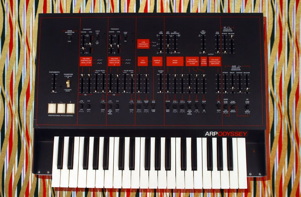 The Arp Odyssey...amazing analog effects Music, My music