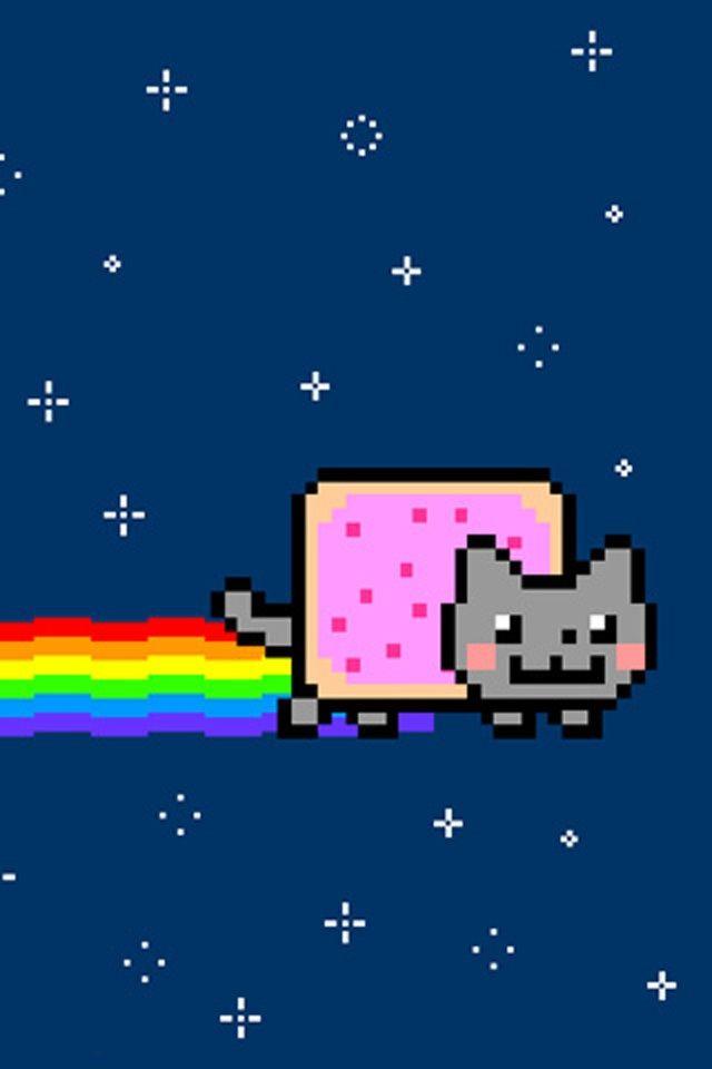 Nyan Cat Iphone Background Nyan Cat Cat Wallpaper Iphone