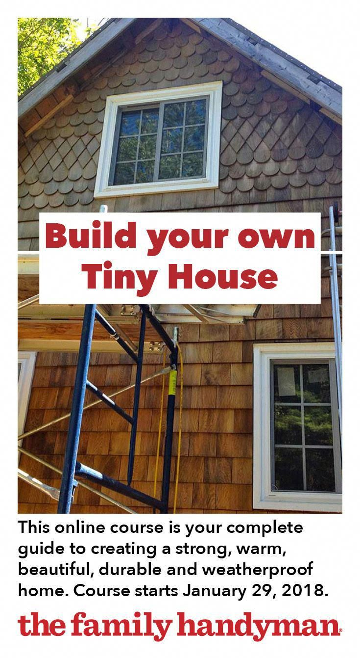 This tiny house online course is your complete guide to creating  strong warm beautiful durable and weatherproof home with interior finishing details also rh pinterest