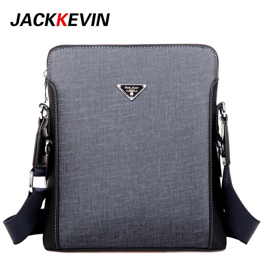 57d08b47d556 JackKevin 2017 Men Fashion PU Leather Shoulder Bag Men s Messenger Business  Handbags High Quality Men Crossbady