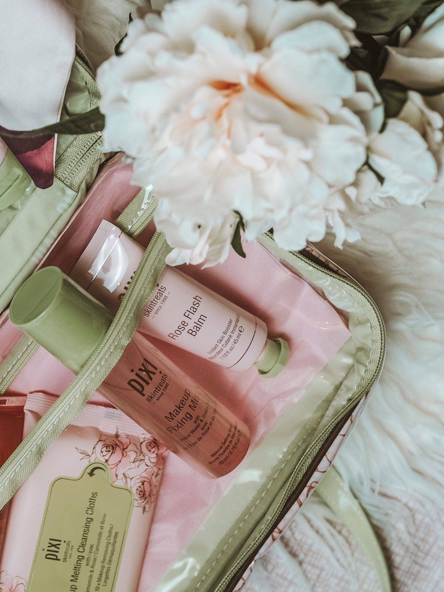 Time to Travel with Pixi Beauty Pixi beauty, Rose