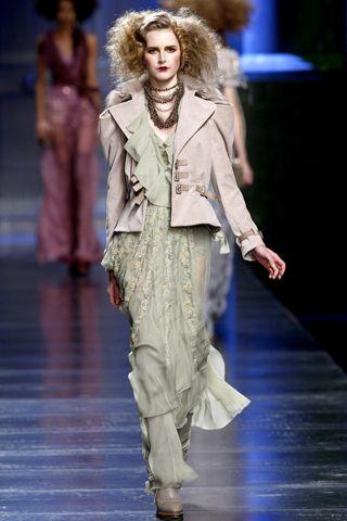 279de0c9562 Dior - Waistcoat with a hobble skirt.