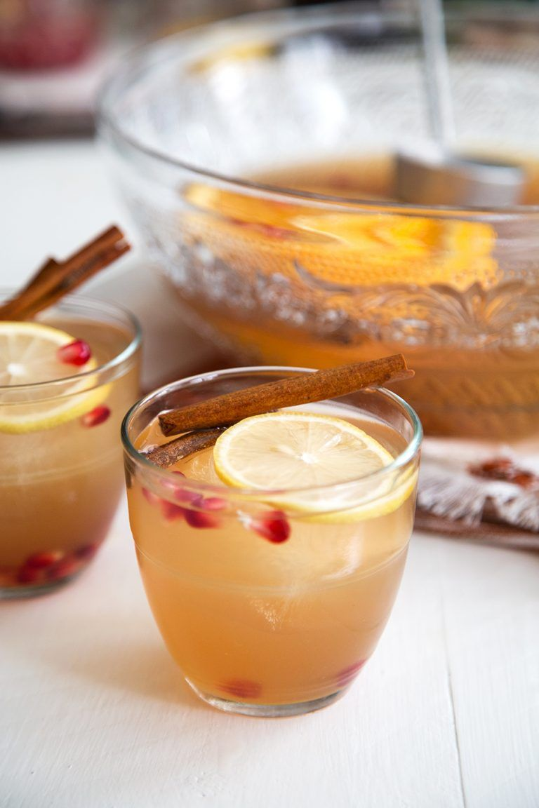 Apple Ginger Bourbon Punch Recipe (With images