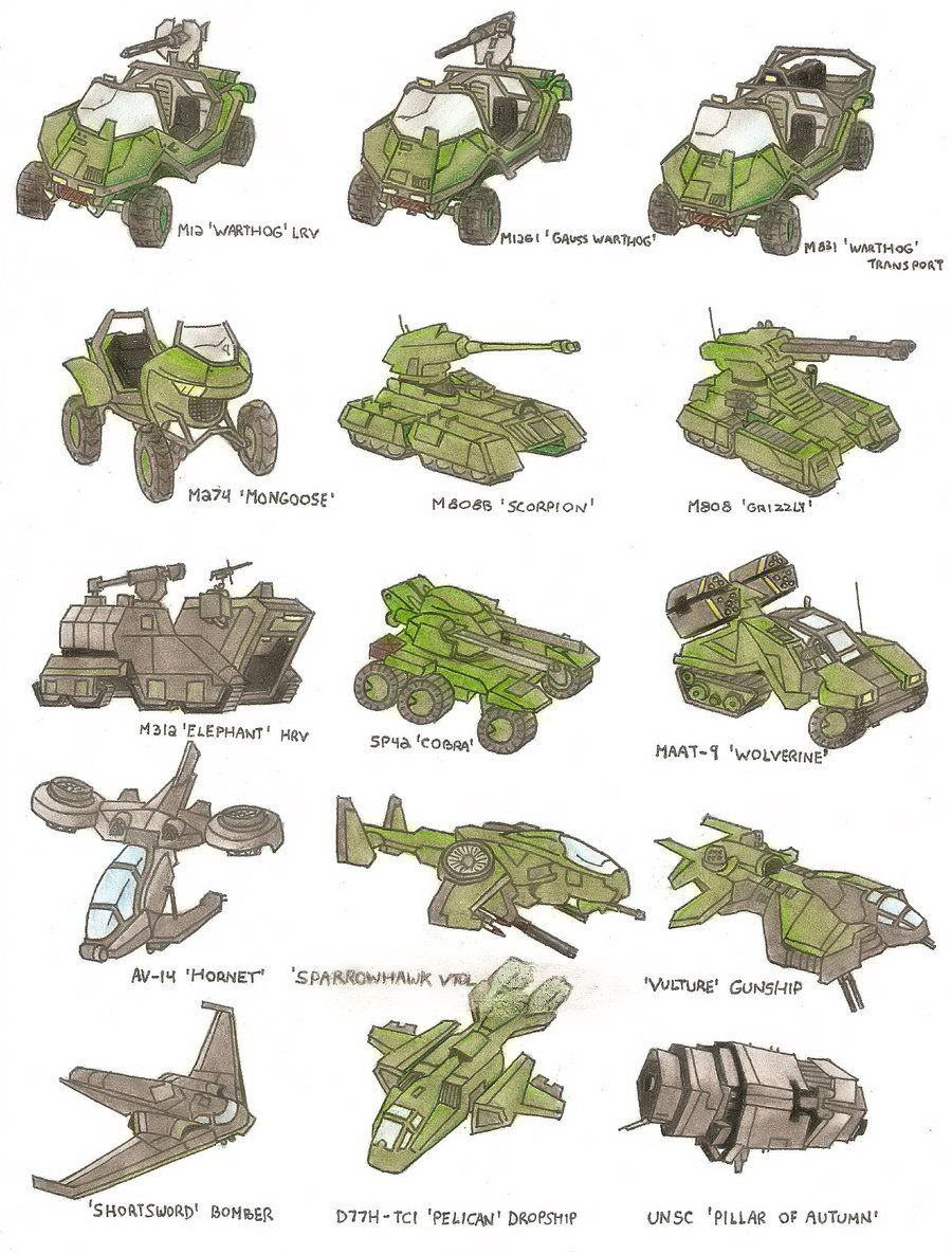 unsc vehicles by trooper1212 on deviantart halo pinterest raumschiff und bilder. Black Bedroom Furniture Sets. Home Design Ideas