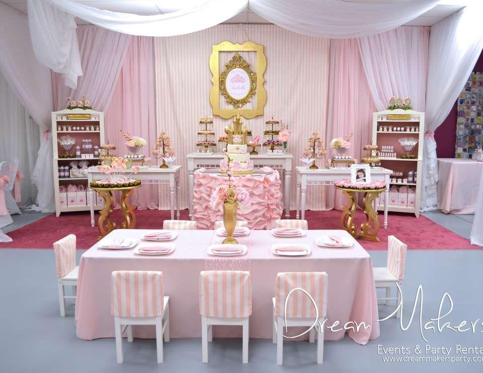 Princess Birthday Pink Gold