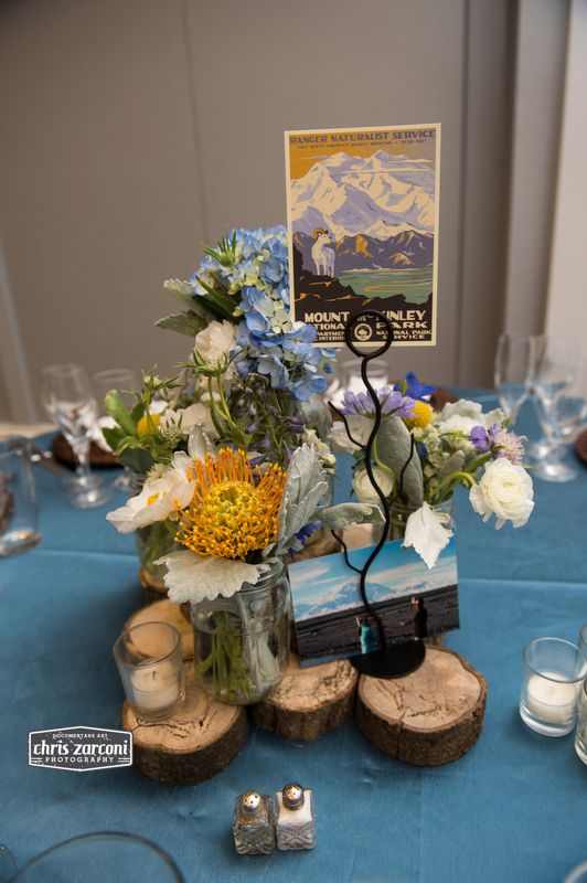 National park theme centerpiece flowers by love blooms photo by national park theme centerpiece flowers by love blooms photo by chris zarconi junglespirit Choice Image