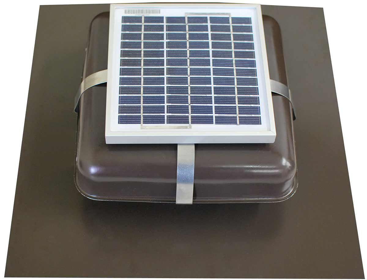Solar powered attic fan review - Solar Roof Vent Solar Attic Fan Solar Rvoblaster With Brown Vent Check Out