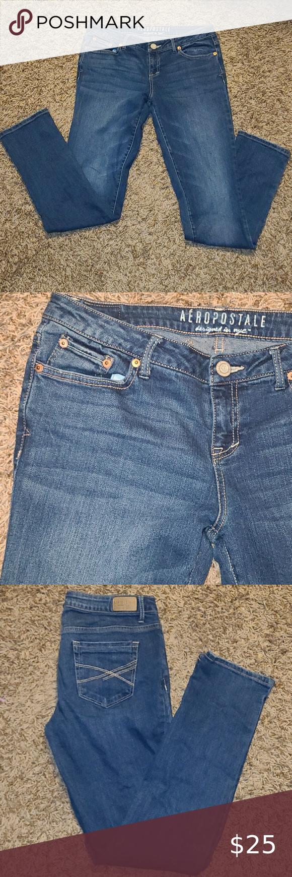 Aeropostale Skinny Blue Jeans Excellent Used Condition Aeropostale Jeans Skinny