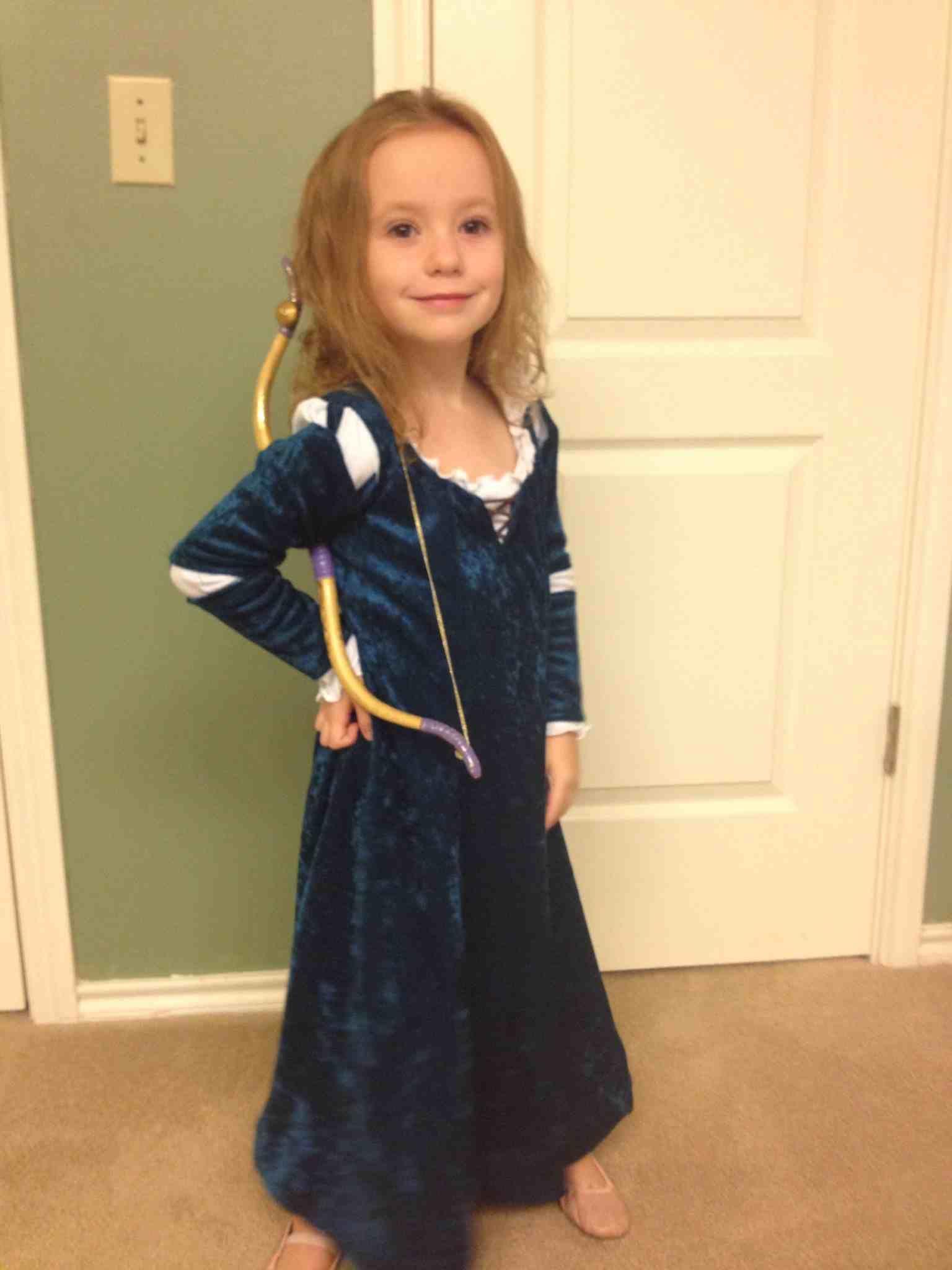 Dolls Brave American Girl Little Girl Blue Velvet Dress Size 4 For Girls