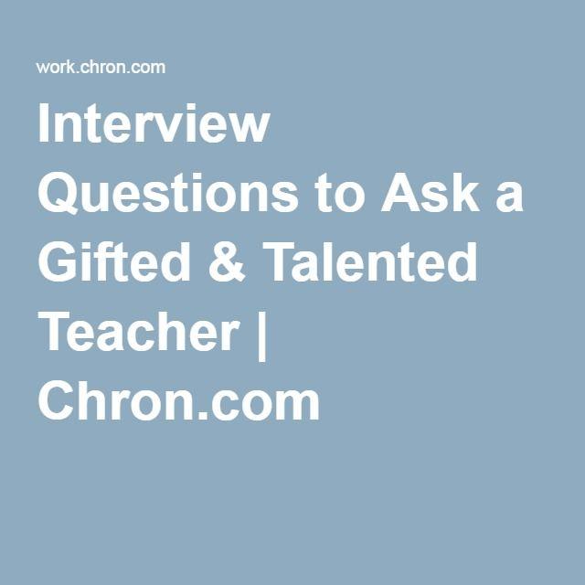 Interview Questions For Rsp Teacher Teaching Interview Questions School