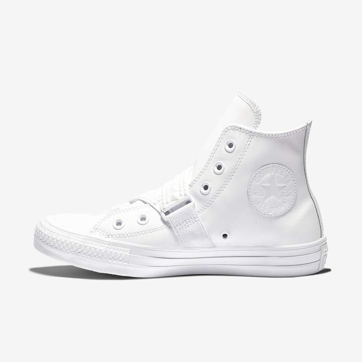 2f64df0a0456 Converse Chuck Taylor All Star Punk Strap Leather High Top Women s Shoe