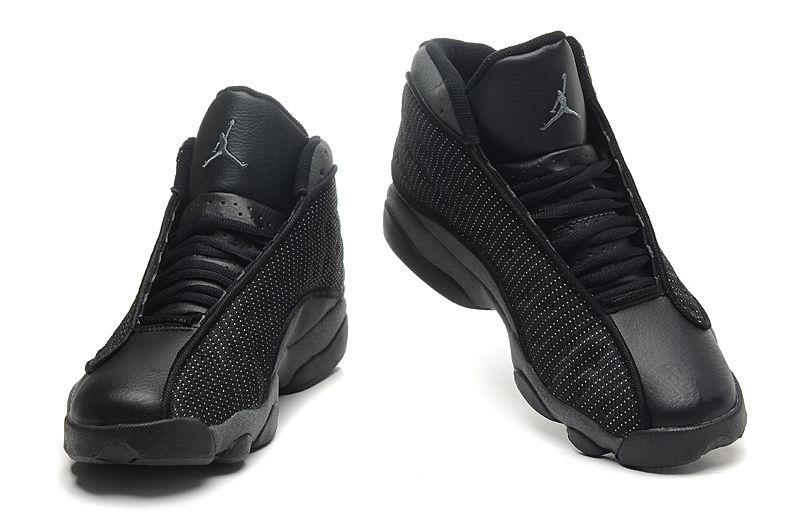 Sale Cheap Air Jordan 13 Retro All Black Online