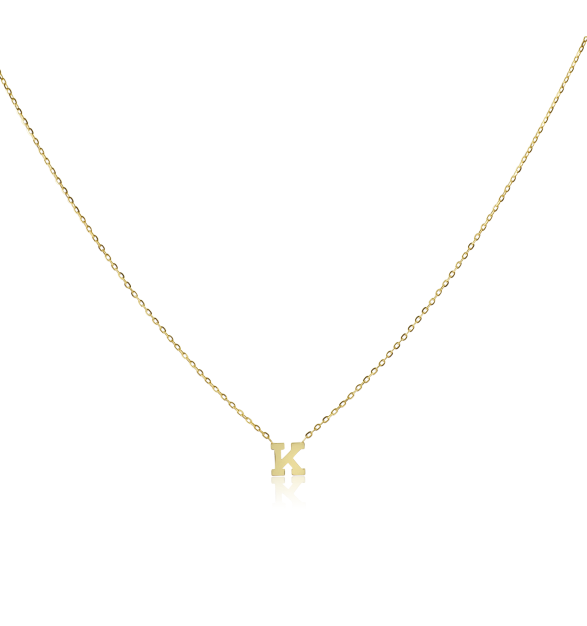 6715ac5738289f Vale Jewelry, 14K, Yellow Gold, Initial Necklace, stone & strand, necklaces