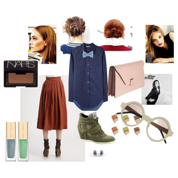 Old Sk0ol Prep Meets Spunk, created by natasha-cucullo on Polyvore