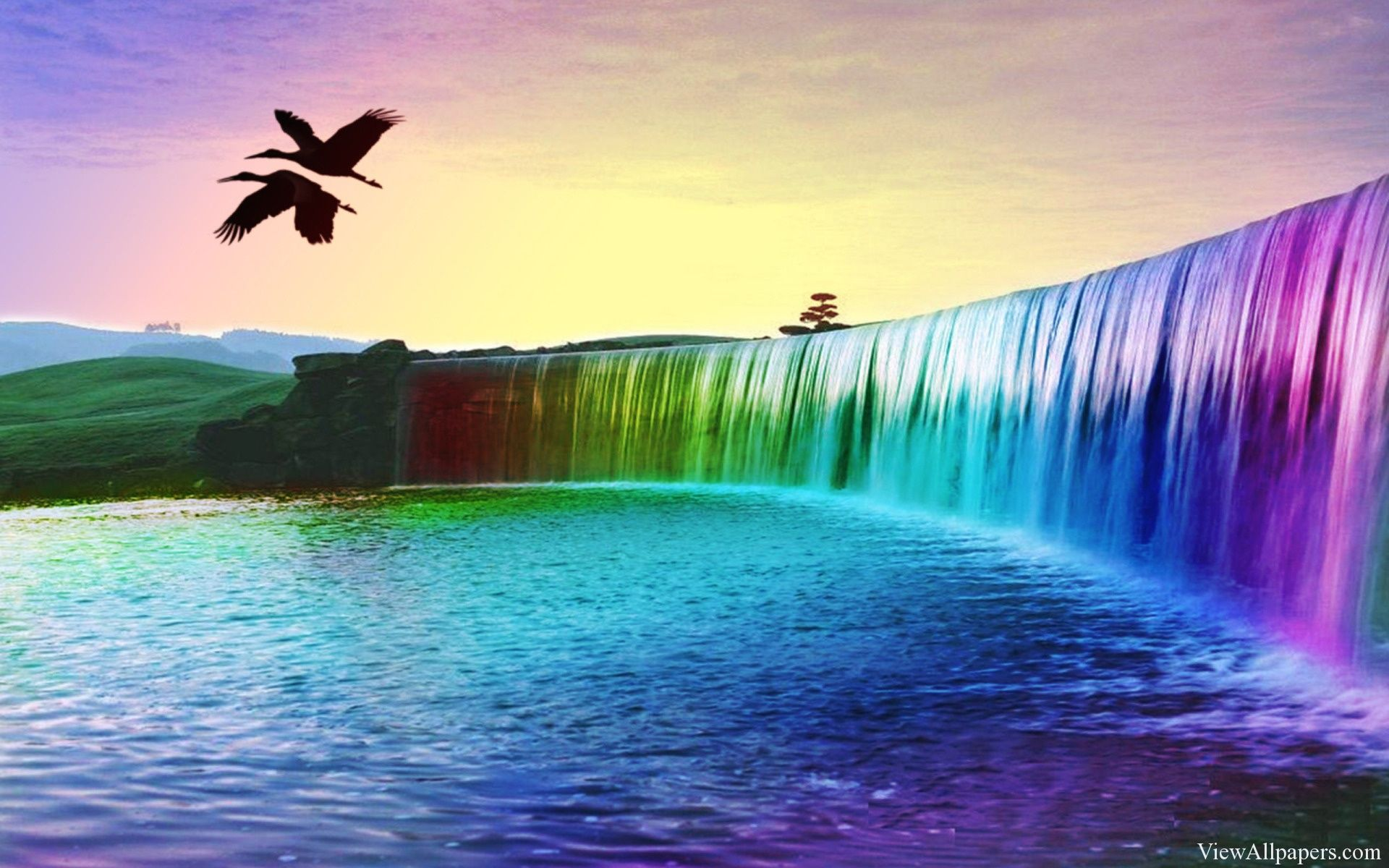 waterfall background for desktop yahoo image search results