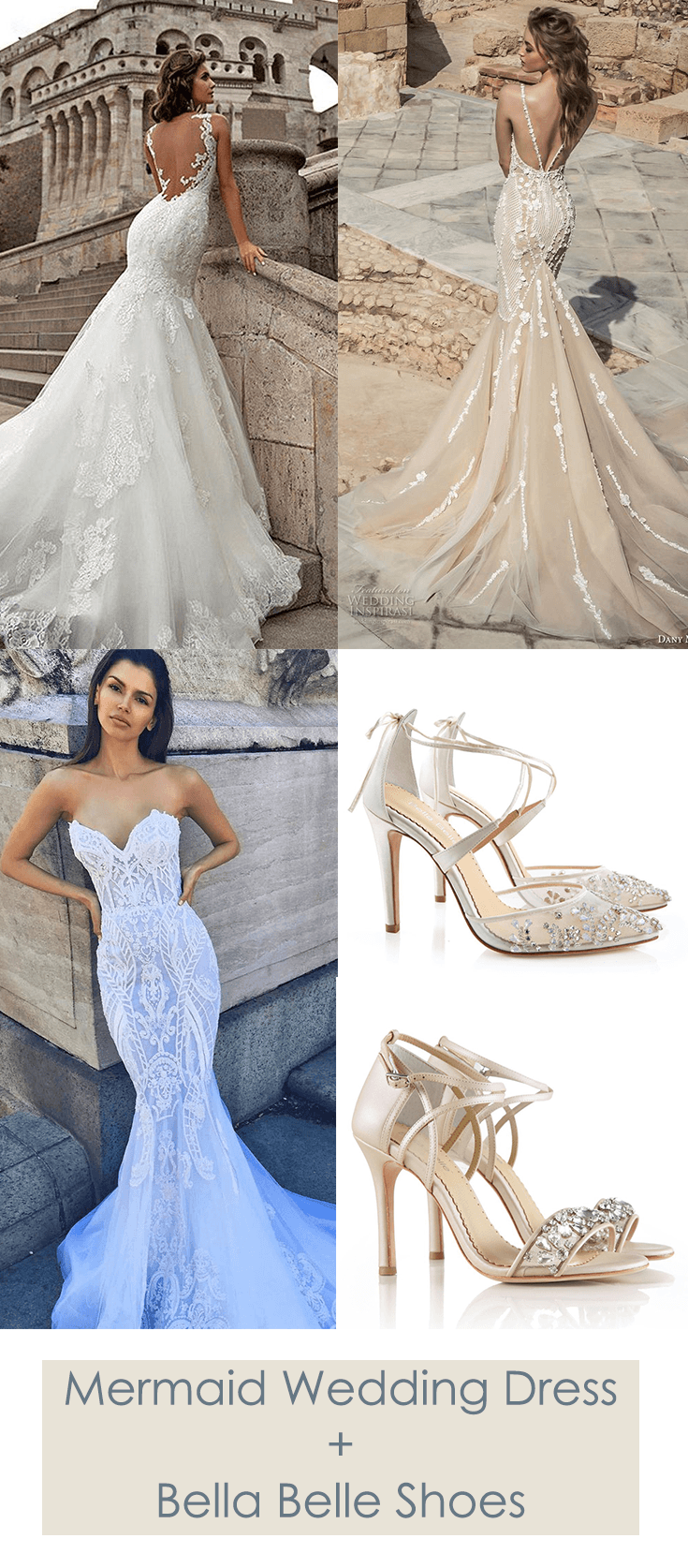 Swoon Worthy Mermaid Wedding Dress By Mila Nova Dany Mizrachi And