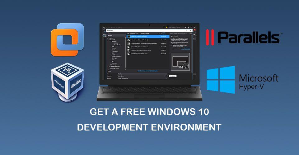 Microsoft Offering Free Windows 10 Development Environment