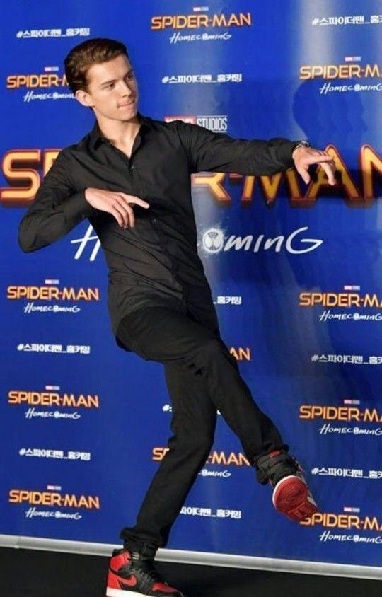 Tom holland spiderman