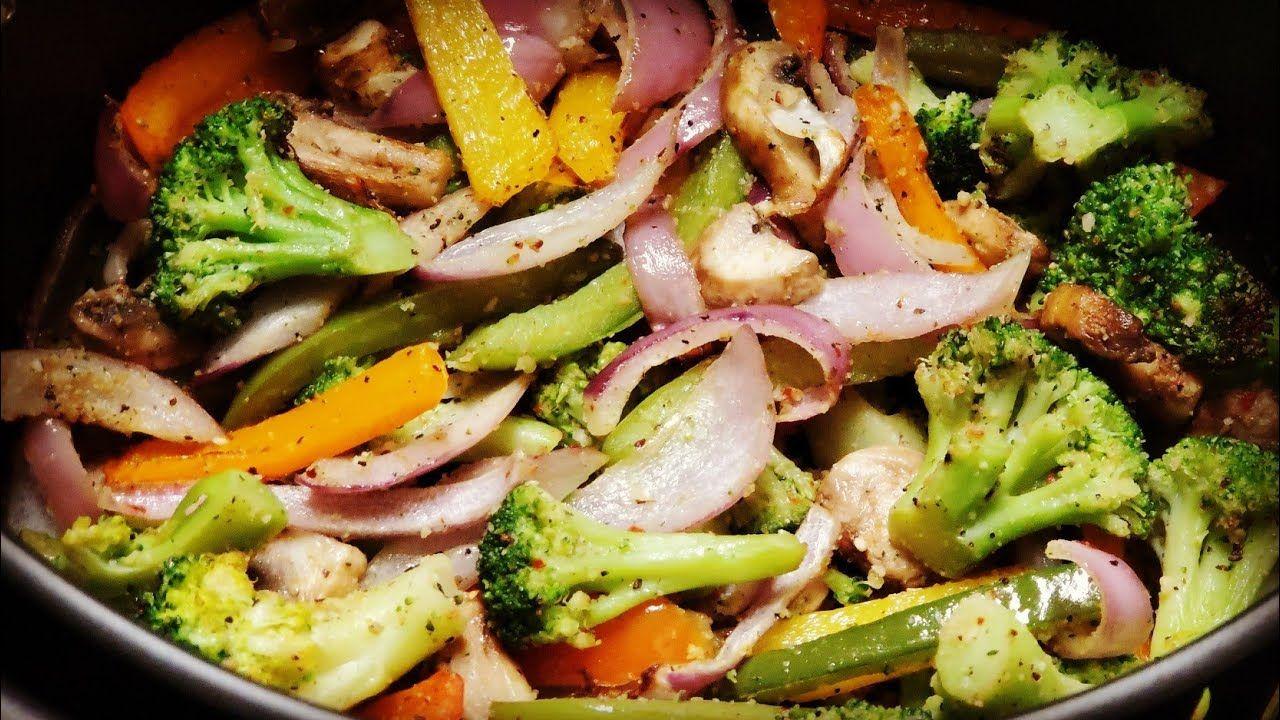 Air fryer vegetables veggies heinz 57 shaq 6qt airfryer