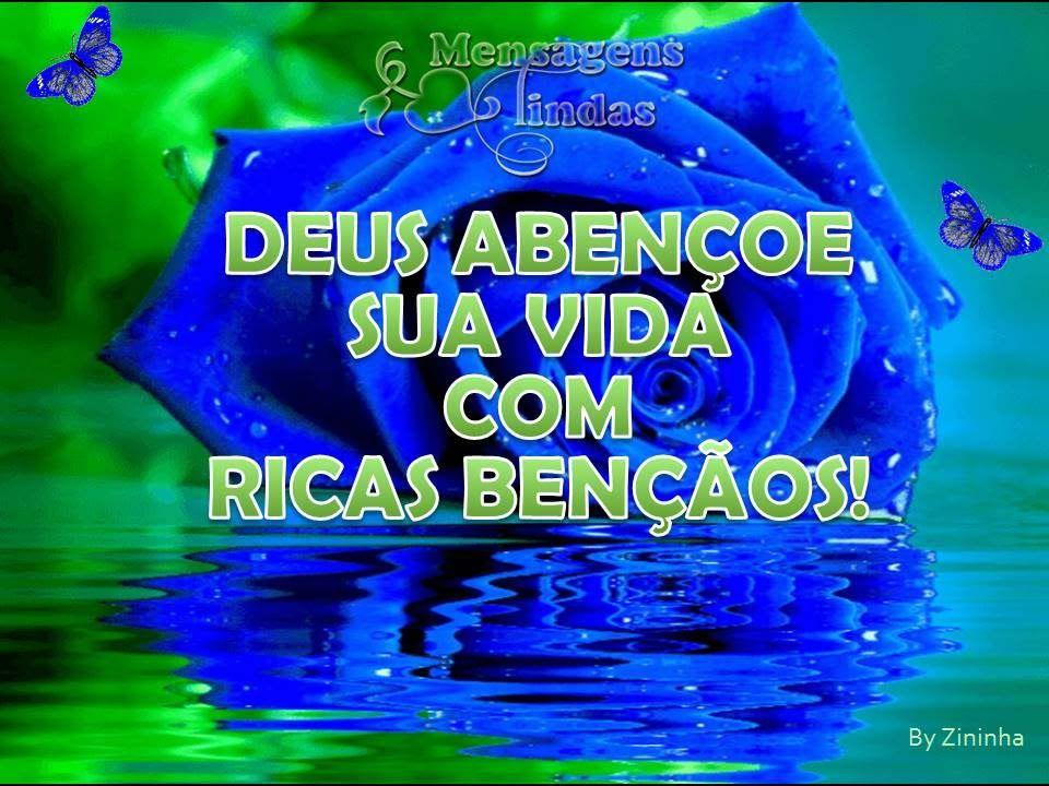 Deus Abencoe Nosso Dia: Deus Abençoe Seu Dia Com Ricas Bençãos!