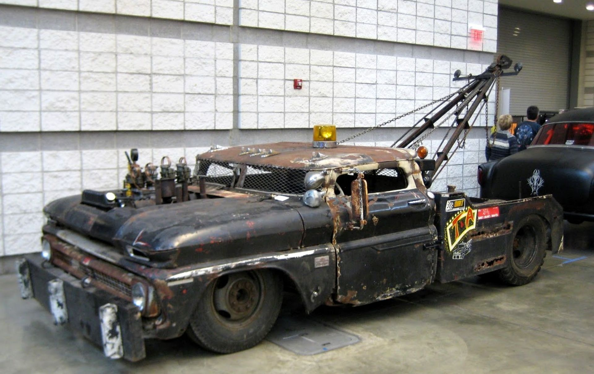 Rat rod wallpaper just a car guy rat rod tow truck full size s chevy