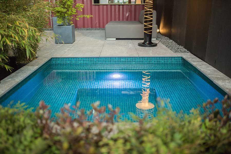 kleiner pool im garten - pool für kleine grundstücke | pool, Garten und erstellen
