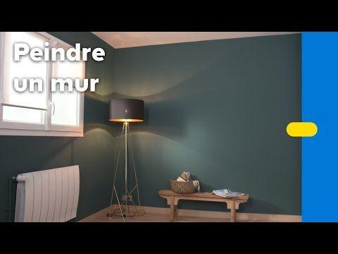 Peinture : 10 idées pour agrandir visuellement une pièce   Peindre mur, Comment peindre un mur ...