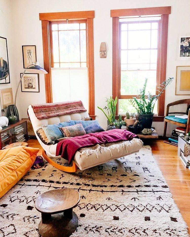 boho living room home decor ideas | Huis interieur ...
