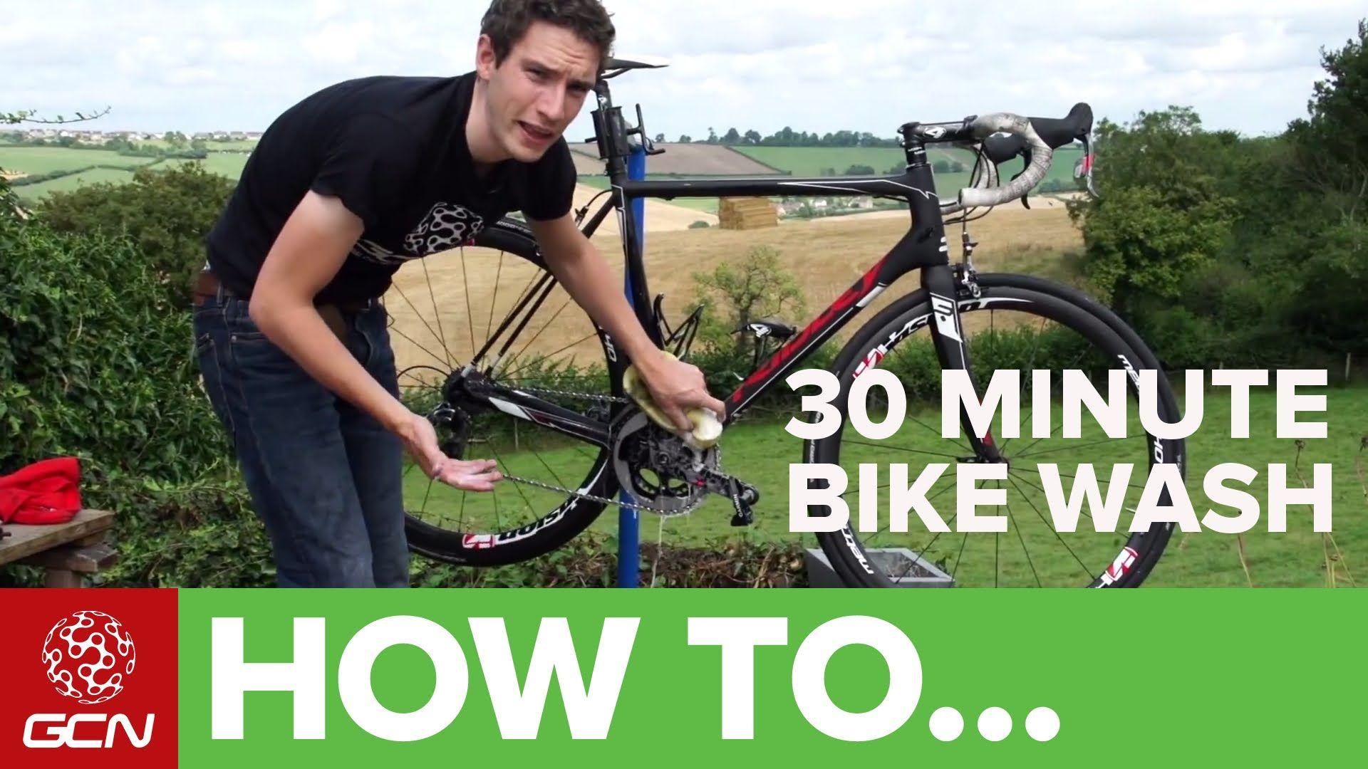 The 30 Minute Bike Wash How To Clean Degrease Your Bike Bike