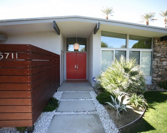 Mid Century Modern Ranch Style House Design,
