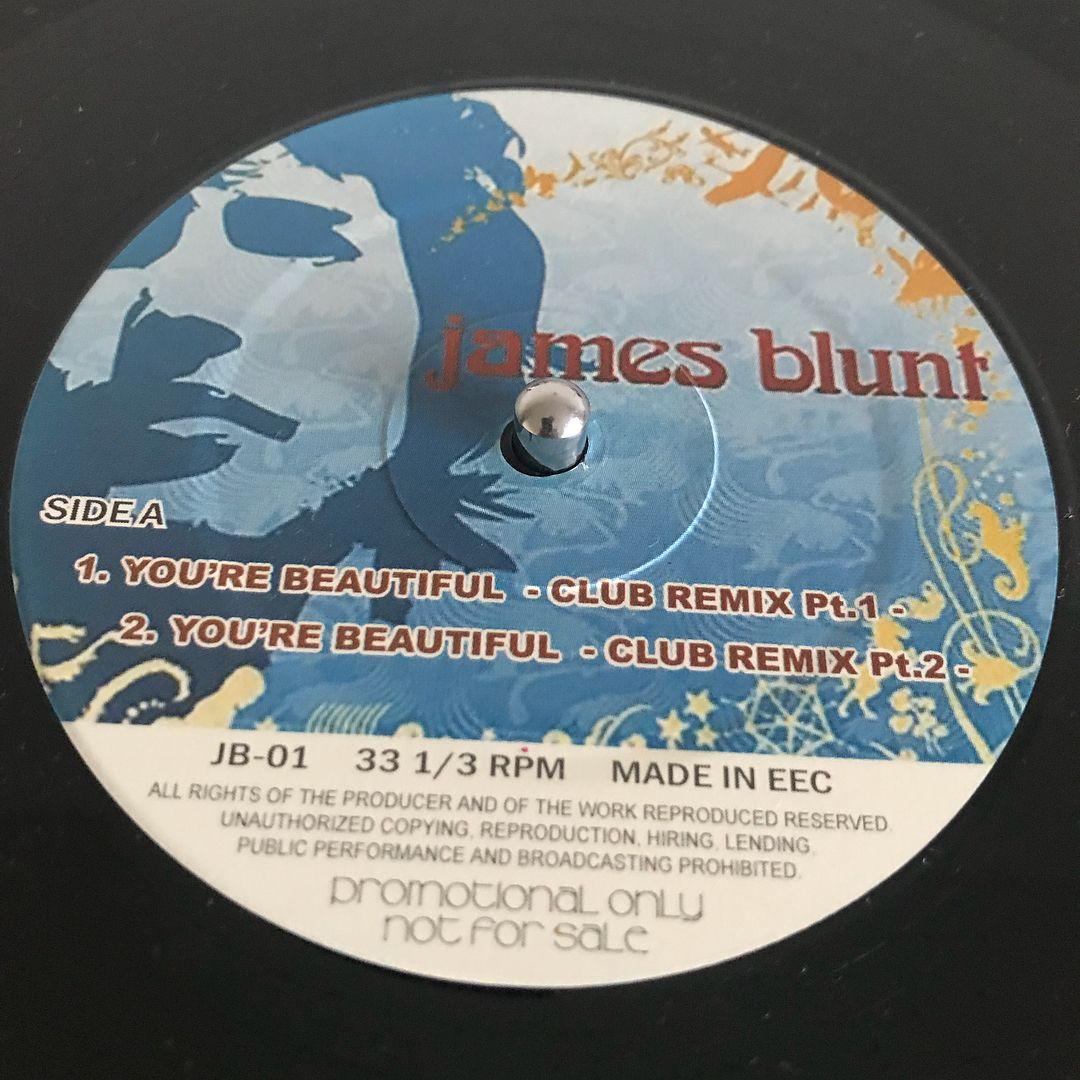 今日の一曲!You′er Beautiful / James Bluntrecords vinyl
