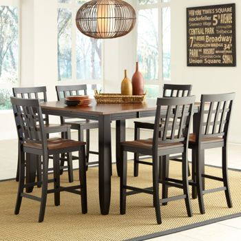 Somerset 7-piece Counter-Height Dining Set | Counter height ...